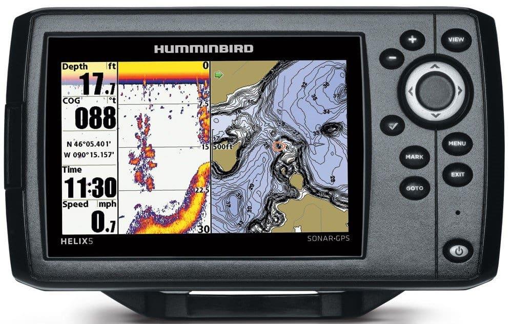 Humminbird 410210 Helix CHIRP GPS G2