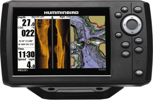 Humminbird 410230 1 Helix 5 CHIRP SI GPS G2