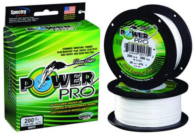 Power Pro Spectra Fiber