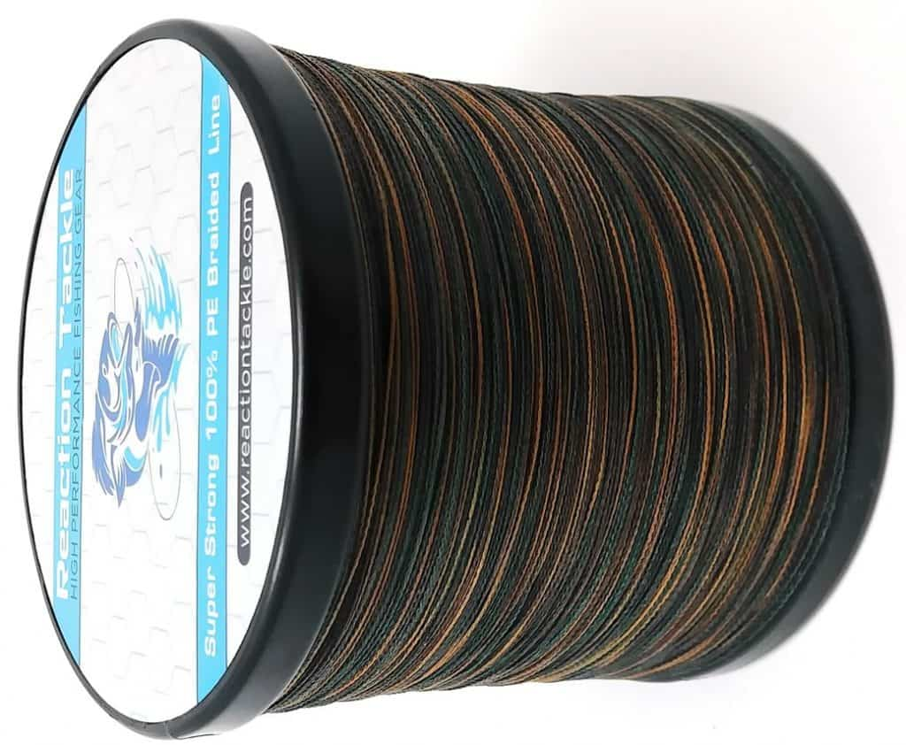 Reaction Tackle High-Performance Braided Fishing Line