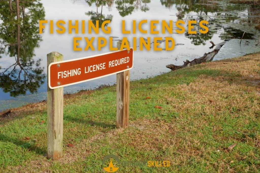 a sign of fishing license required to answer can you fish without a license even if you don't keep the fish