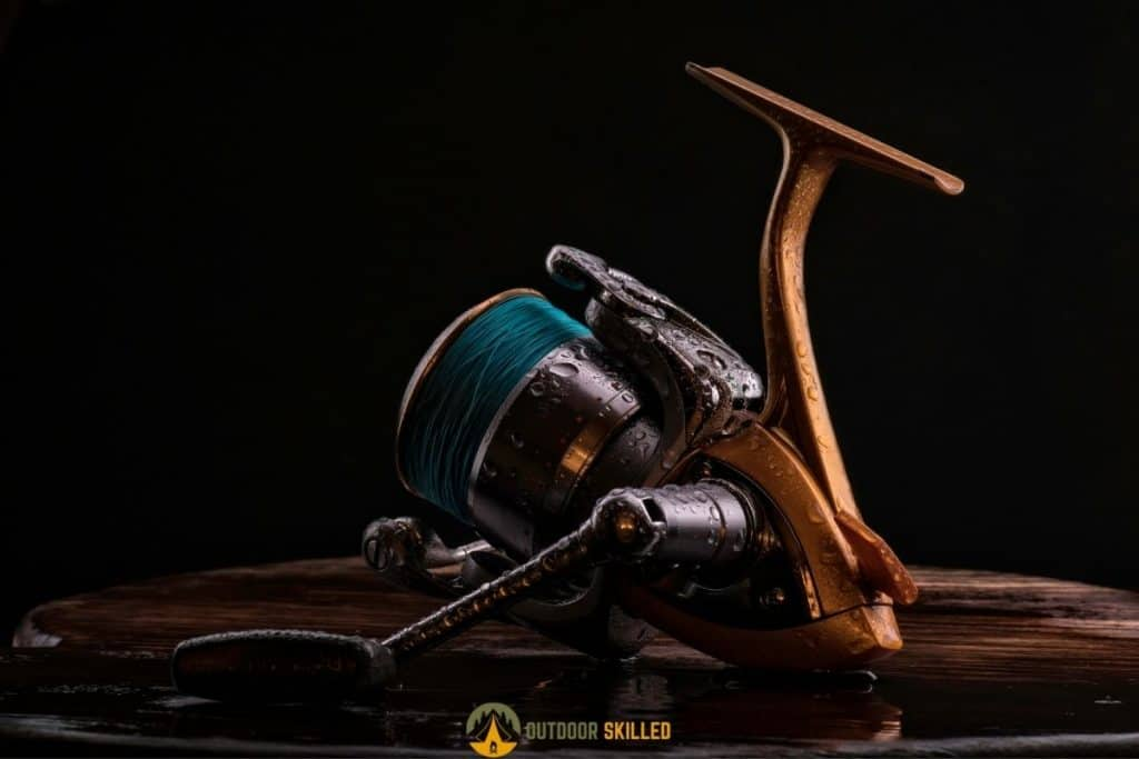 reel with braided fishing line to answer can fish bite through braid
