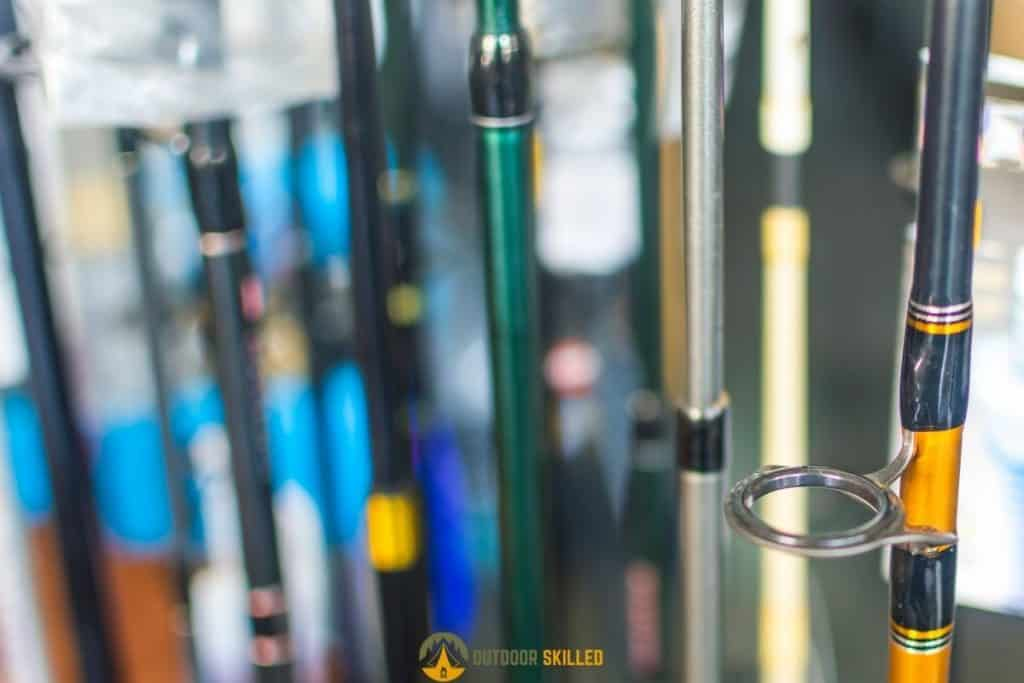 fishing rods to show rules of bass fishing rods selection