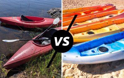 sit-on-top vs sit-in kayak comparison